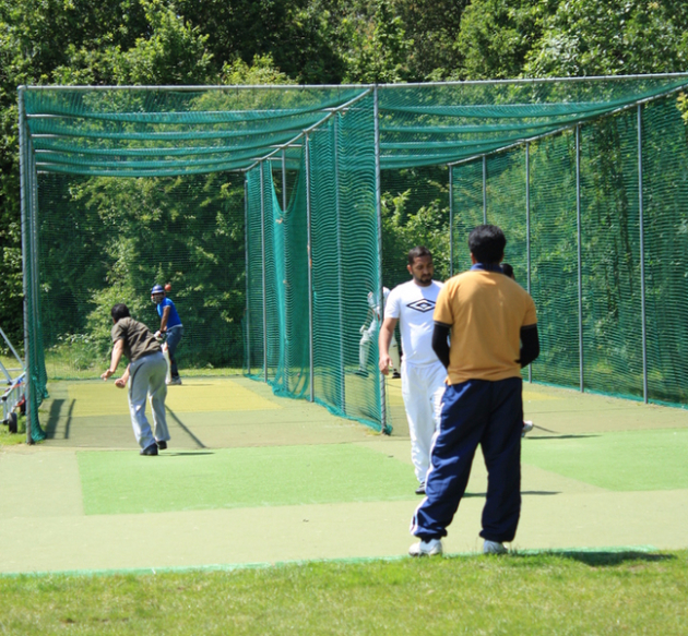 Hedge End cricket practice nets